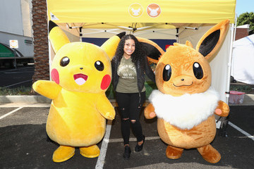 Jordin Sparks Pokémon: Let's Go, Road Trip! Launch Event Co-Hosted by Jordin Sparks