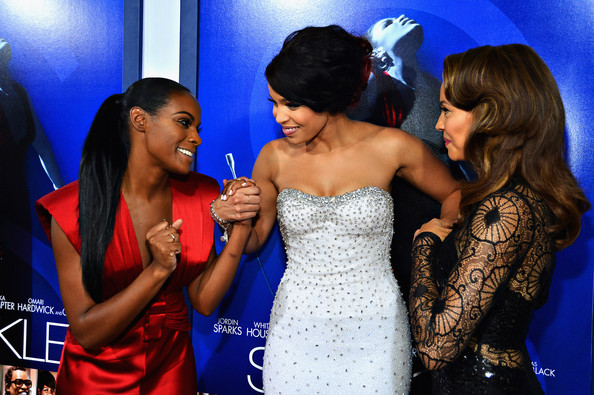 """Premiere Of Tri-Star Pictures' """"Sparkle"""" - Red Carpet"""