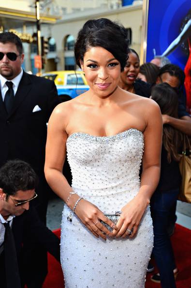"Jordin Sparks - Premiere Of Tri-Star Pictures' ""Sparkle"" - Red Carpet"