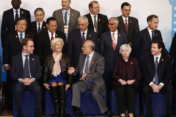 Jose Angel Gurria G20 Finance Ministers and Central Bank Governors Meet in Shanghai