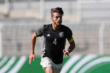 Jose-Enrique Rios Alonso U17 Germany v U17 Israel - U17 Four Nations Tournament