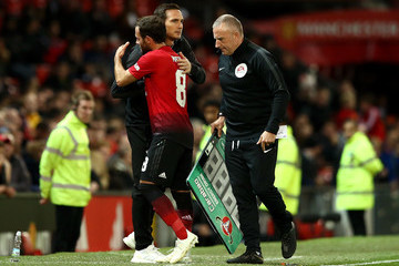Jose Mourinho Manchester United v Derby County - Carabao Cup Third Round