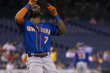 Jose Reyes New York Mets v Philadelphia Phillies