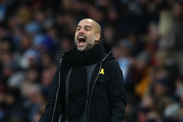 Josep Guardiola Manchester City v Burnley - The Emirates FA Cup Third Round