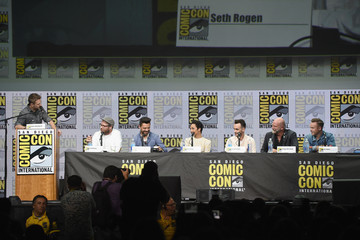 Joseph Gilgun Comic-Con International 2017 - AMC's 'Preacher' Panel