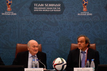 Joseph S. Blatter Preliminary Draw of the 2018 FIFA World Cup in Russia - Previews