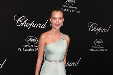 Josephine Skriver Chopard Secret Night - Arrivals - The 71st Annual Cannes Film Festival