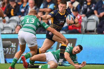 Josh Adams Worcester Warriors vs. Newcastle Falcons - Gallagher Premiership Rugby