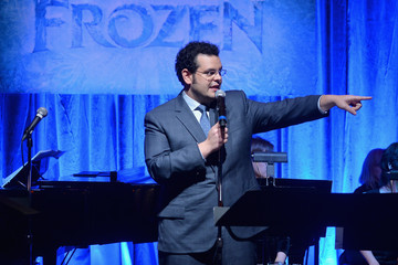 Josh Gad 'Frozen' Celebrated in Los Angeles