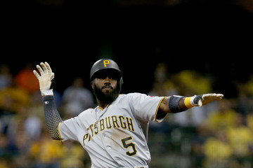 Josh Harrison  Pittsburgh Pirates v Milwaukee Brewers