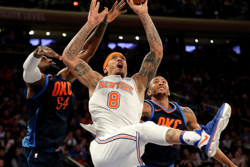 Josh Huestis Oklahoma City Thunder v New York Knicks