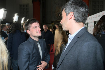 Josh Hutcherson Audi Arrivals at 'The Disaster Artist' at AFI Festival