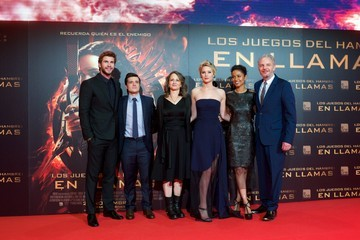 Josh Hutcherson Francis Lawrence 'The Hunger Games: Catching Fire' Premieres in Madrid