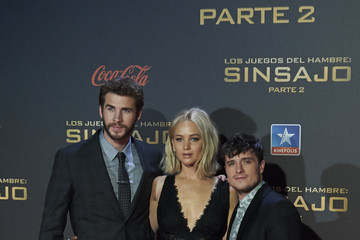 Josh Hutcherson Liam Hemsworth 'The Hunger Games: Mockingjay - Part 2' Madrid Premiere