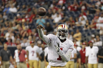 Josh Johnson San Francisco 49ers v Houston Texans