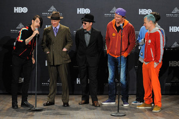 Josh Klinghoffer 27th Annual Rock And Roll Hall Of Fame Induction Ceremony - Press Room