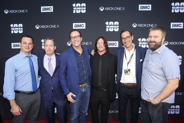 Josh Sapan 'The Walking Dead' 100th Premiere and Party