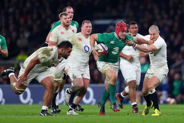 Josh Van Der Flier England v Ireland - RBS Six Nations