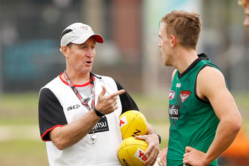 Joshua Begley Essendon Bombers Training Session