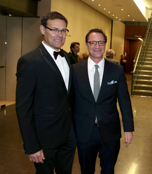 Photo of Joshua Malina & her friend   -