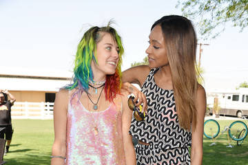 Jourdan Dunn UGG Australia's Style Haven House Party Showcase Of Spring Summer 2014 Collection At The Coachella Valley Music & Arts Festival 2014