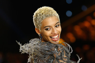 Jourdana Phillips Swarovski Sparkles in the 2016 Victoria's Secret Fashion Show