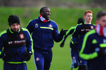 Jozy Altidore Sunderland Training Session