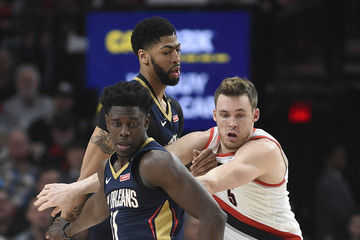 Jrue Holiday New Orleans Pelicans vs. Portland Trail Blazers - Game One