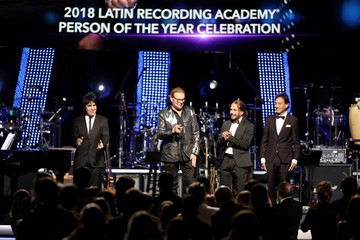 Juan Calleros Sergio Vallin The Latin Recording Academy's 2018 Person Of The Year Gala Honoring Mana - Red Carpet