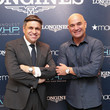 Juan-Carlos Capelli Longines Conquest V.H.P NY Launch With Andre Agassi