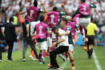Juan Carlos Osorio Marco Fabian Germany vs. Mexico: Group F - 2018 FIFA World Cup Russia