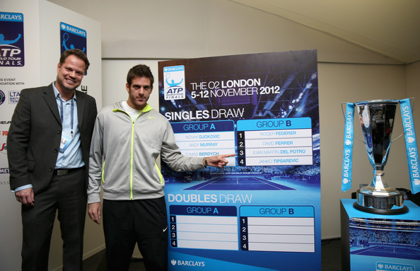 Juan Martin Del Potro - ATP World Tour Finals - Previews