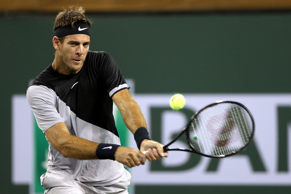 Juan Martin Del Potro Sees Improvement In His Game Since Injury Nightmare