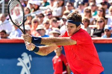 Juan Martin Del Potro Rogers Cup presented by National Bank - Day 6