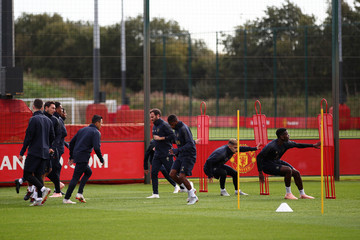 Juan Mata Manchester United Training And Press Conference