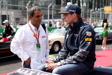 Juan Pablo Montoya F1 Grand Prix of Mexico