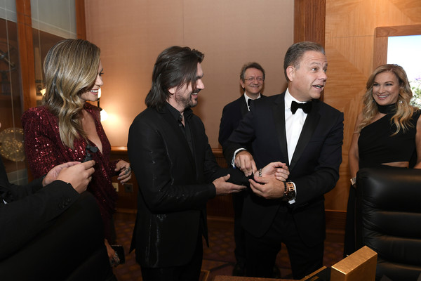 The 20th Annual Latin GRAMMY Awards – Person Of The Year Gala – Bulova Watch Gifting [event,suit,formal wear,tuxedo,juanes,person of the year gala,michael benavente,latin grammy awards,bulova watch gifting,las vegas,nevada,latin recording academy,gala,person of the year]