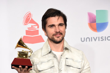 Juanes Latin Grammy Awards Press Room