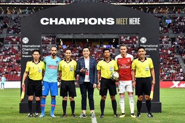 Juanfran Club Atletico de Madrid v Arsenal - International Champions Cup 2018