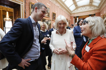 Jude Kelly The Duchess Of Cornwall Hosts A Reception At Buckingham Palace For Southbank Centre's WOW - Women Of The World Festival