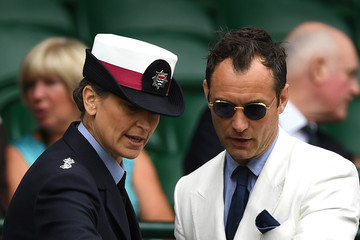 Jude Law Day Eleven: The Championships - Wimbledon 2016
