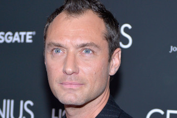 Jude Law 'Genius' New York Premiere