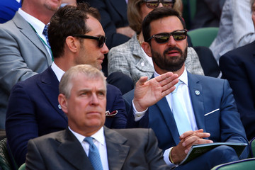Jude Law Day Eleven: The Championships - Wimbledon 2014