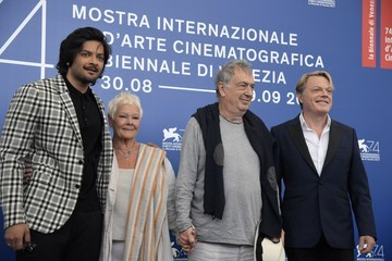 Judi Dench Eddie Izzard Victoria & Abdul and Jaeger-LeCoultre Glory to the Filmaker Award 2017 Photocall - 74th Venice Film Festival