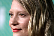 """Mia Wasikowska attends the """"Judy & Punch"""" Premiere during the 63rd BFI London Film Festival at the Embankment Gardens Cinema on October 12, 2019 in London, England."""