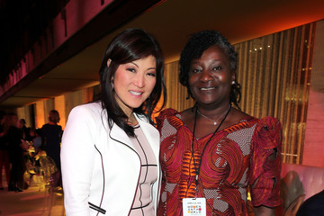 Juju Chang 7th Annual Women in the World Summit VIP Dinner
