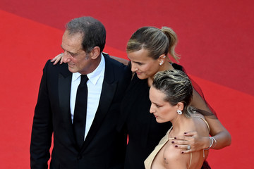 """Julia Ducournau Agathe Rousselle """"OSS 117: From Africa With Love"""" Final Screeing & Closing Ceremony Red Carpet - The 74th Annual Cannes Film Festival"""