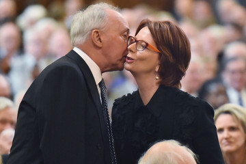 Julia Gillard Malcolm Fraser Farewelled In State Funeral
