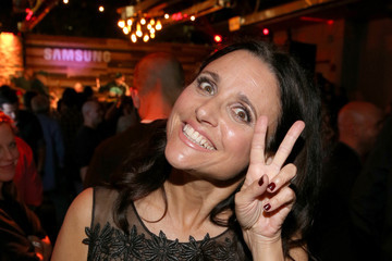 Julia Louis-Dreyfus 'Jimmy Kimmel Live' and Entertainment Weekly Party