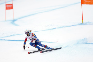 Julia Mancuso Audi FIS Alpine Ski World Cup - Women's Downhill Training